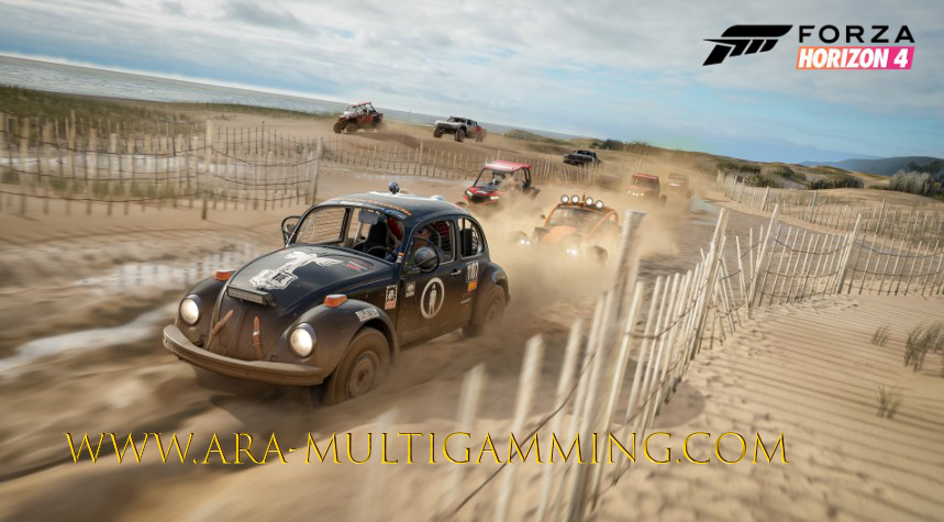 Forza Horizon 4. It was released in the previous year at the end of 2018. you can play it on your Pc even you have low device . It run fast and very smooth as you know some games have bugs and lags, it have no any bugs . If we talk about Forza racing car features , it smitten with the great adaptable vehicle handle. It's a excellent Meet of forgiving arcade handling with the predominant attention to details that ensure each car feels different enough. It is not aiming to be a good simulations, but the weight, better  speed and torque of cars give it a personality beyond classes.