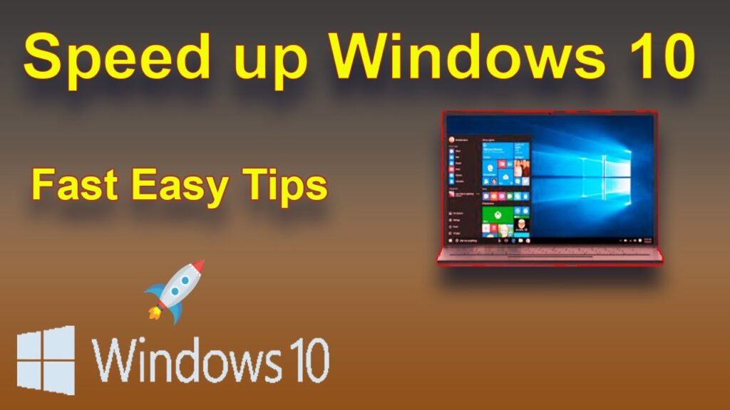 we can speed up easily windows 10 through the simple  4 step. If you want to speed up windows 10 read its simple text and make speed high.